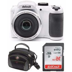 """Kodak PIXPRO AZ252 Point & Shoot Digital Camera with 3"""" LC"""