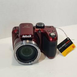 KODAK PIXPRO AZ401 Digital Camera RED 40X Zoom Lens 24mm Wid