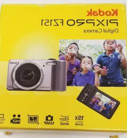 Kodak PIXPRO FZ151 16MP Digital Camera - Silver, Brand New