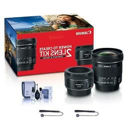 Canon Portrait & Travel 2 Lens Kit - EF 50mm f/1.8 STM Lens
