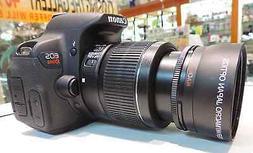 PRO Telephoto Zoom Lens FOR CANON DSLR REBEL EOS 1000D 20D T