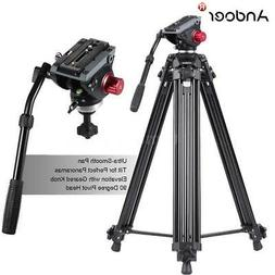 "Professional 72""Aluminum Heavy Duty Video Camera Tripod Stan"