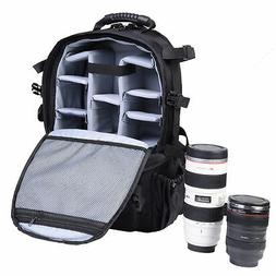 Professional Photography Deluxe Lens Video Camera Gear Backp