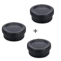rear lens cap cover