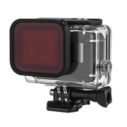 Kupton Red Filter, Underwater Camera Diving Waterproof Red C