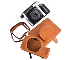 Ace Select Retro PU Leather Camera Case Bag for Fujifilm INS