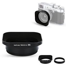 JJC Reversible Metal Lens Hood for Fuji Fujifilm FinePix X10