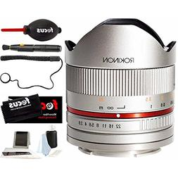 Rokinon RK8MS-FX 8mm F2.8 Series 2 Fisheye Fixed Lens for Fu