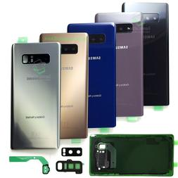 Replacement Back Glass Cover for Samsung Galaxy Note 8 w.Cam