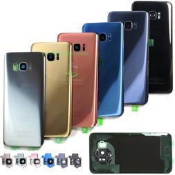 For Samsung Galaxy S8/S8 Plus Replacement Back Glass+Camera