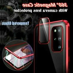For Samsung Note 20 Ultra/S20 Magnetic Tempered Glass Case+C