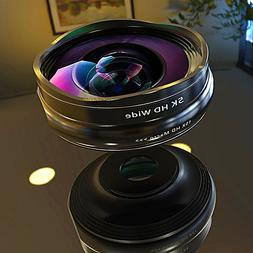 SCHOTT Series 5K HD Super Wide Angle + Macro Lens 2in1 Kit f