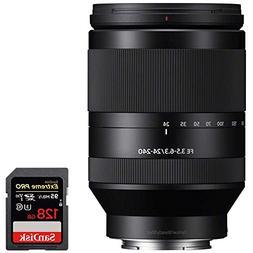 Sony SEL24240 FE 24-240mm F3.5-6.3 OSS Full-frame E-mount Te