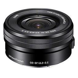 Sony SELP1650 16-50mm F/3.5-5.6 OSS Power Zoom Lens Black Bu