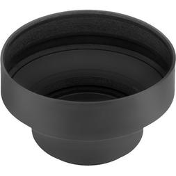 Sensei 67mm 3-in-1 Collapsible Rubber Lens Hood for 28mm to
