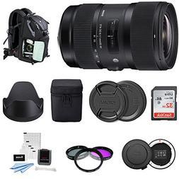Sigma 18-35mm F1.8 Art DC HSM Lens for Canon DSLR Cameras  U