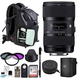 Sigma 18-35mm F1.8 Art DC HSM Lens for Nikon DSLR Cameras w/