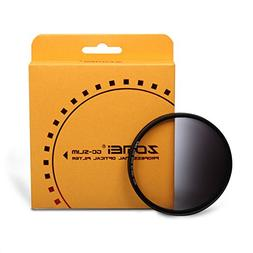 ZOMEI 62mm Slim Gradual ND4 Filters For Tamron A1718-200 Nik
