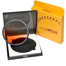 ZOMEI 62mm Slim Gradual Orange Filters For Tamron A1718-200