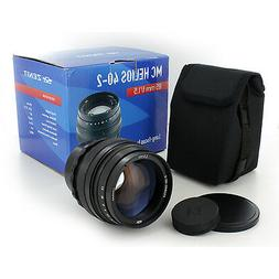 Soviet Russian Helios 40-2 85mm f/1.5 lens for Canon EOS Cam