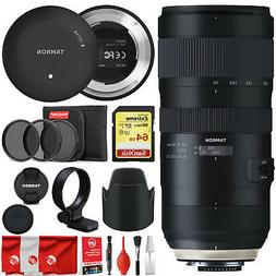 Tamron SP 70-200mm F/2.8 Di VC USD G2 Bundle with Tap in Con