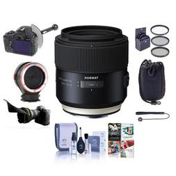 Tamron SP 85mm F/1.8 Di VC USD Lens for Sony - Bundle with 6