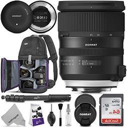 Tamron SP 24-70mm f/2.8 Di VC USD G2 Lens for Canon EF w/Tam