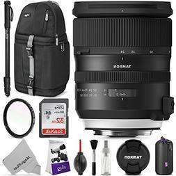 Tamron SP 24-70mm f/2.8 Di VC USD G2 Lens for Nikon F w/Adva
