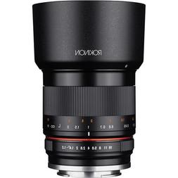 Rokinon 35mm F1.2 High Speed Wide Angle Lens for Canon EOS M