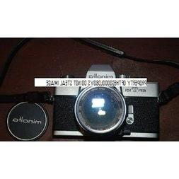 Minolta SRT-101 Working And In Nice Shape Camera Body With 5