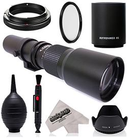 Super 500mm/1000mm f/8 Manual Telephoto