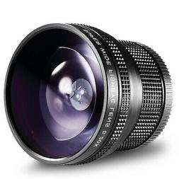 Neewer 52MM 0.20X High Definition Super Wide AF Fisheye Lens