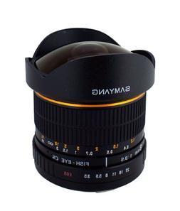 Samyang SY8M-P 8mm f3.5 Lens for Pentax