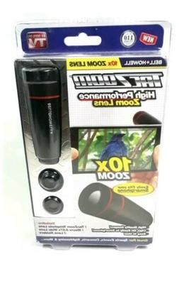 Tac-Zoom Smart Phone Camera w/ 10X Zoom Wide Angle & Macro L