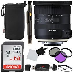 Tamron 10-24mm f/3.5-4.5 Di II VC Lens for Canon Cameras, Sa