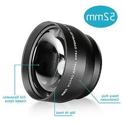 Neewer® 52MM 2.2X Professional Telephoto Lens with Microfib