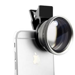 Titanium HD AF Telephoto 2.2X Zoom Lens 37MM for iPhones 8,