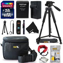 Ultimate 20 Piece Accessory Kit for Canon Powershot SX60 HS,