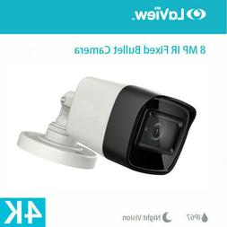 Ultra HD 4K 2160p 8MP Security Bullet IR CCTV Camera IP67 3.