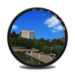 Ultra Slim CPL Circular Polarizing Lens Camera Filter 52/55/