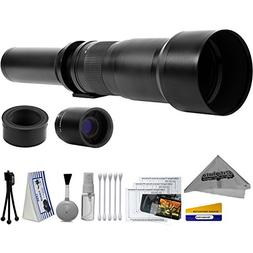 Opteka 650-2600mm High Definition Ultra Telephoto Zoom Lens