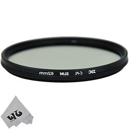 JW 62mm Ultra-Thin Circular Polarizer CPL Filter For For Tam