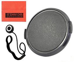 37mm Universal Snap-On Lens Cap For Panasonic Lumix G X Vari