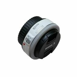Canon EF 40mm f/2.8 STM Pancake Lens  - White