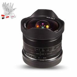 US Warehouse 7artisans 7.5mm F2.8 Fisheye lens for Panasonic
