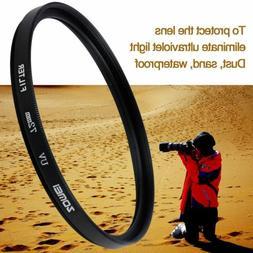 ZOMEI UV Filter Camera Lens Protector for Canon 52/55/58/62/