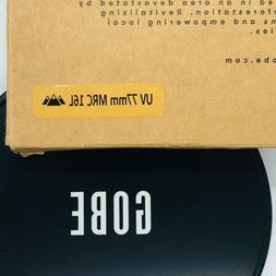 Gobe UV 77mm Schott 16-Layer Multi-Resistant Coated Ultra Vi