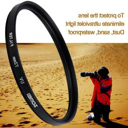 ZOMEI 52/55/58/62/67/72/77/82mm Ultra-Violet UV Lens protect