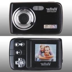 ViviCam 7022 7.1 Megapixel Compact Camera-7.45 mm - Black