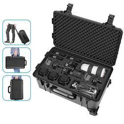 Neewer Waterproof Hard Case Camera Trolley Case for Camera T